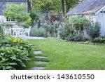 Pretty Summer Garden