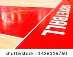 basketball ground in the stadium | Shutterstock . vector #1436116760