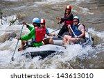 phang nga thailand dec 6 group... | Shutterstock . vector #143613010