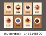 templates with different kinds... | Shutterstock .eps vector #1436148500