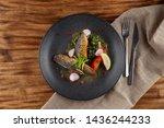 Fried Mackerel Fish With...