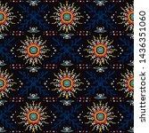seamless floral pattern....   Shutterstock .eps vector #1436351060
