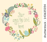 Beautiful Greeting Card With...