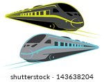 TRAIN, RAILWAY VECTOR - stock vector