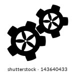 gears on a white background   Shutterstock .eps vector #143640433