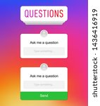 ask question insta gram social...