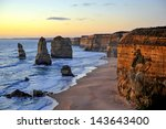 The Sunset Over The Twelve...