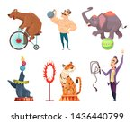 Circus Mascots. Clouns ...