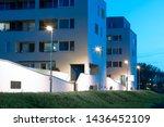 Apartment Quarter At Night With ...