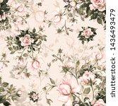 Rose Pattern Beautiful Print...
