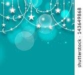 muslim community festival eid... | Shutterstock .eps vector #143649868