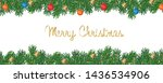 merry christmas and happy new... | Shutterstock .eps vector #1436534906
