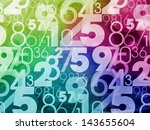 colorful abstract random... | Shutterstock . vector #143655604