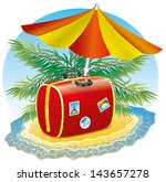 vector. summer holidays. | Shutterstock .eps vector #143657278