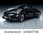 non branded generic sports car | Shutterstock . vector #143657746
