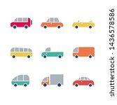 car transport icon sign... | Shutterstock .eps vector #1436578586