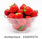 Ripe Strawberry In The Bowl...