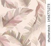 watercolor seamless pattern... | Shutterstock . vector #1436771273
