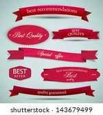 set of superior quality and... | Shutterstock .eps vector #143679499
