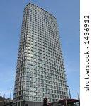 tall glass building | Shutterstock . vector #1436912