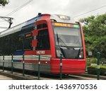 Houston  Tx   Apr 23  Metrorail ...