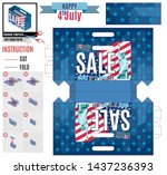 big event sale independence day ... | Shutterstock .eps vector #1437236393