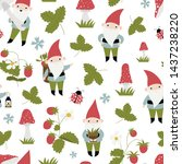 seamless vector pattern with...   Shutterstock .eps vector #1437238220