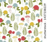 seamless vector pattern with...   Shutterstock .eps vector #1437238229