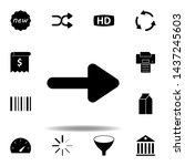 new  badge icon. elements of...