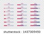 percentage vector symbols. 5 10 ...   Shutterstock .eps vector #1437305450