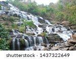Waterfall In Doi Intanon...