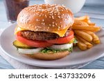 a beyond delicious plant based... | Shutterstock . vector #1437332096