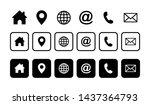web icon set. website set icon...   Shutterstock .eps vector #1437364793