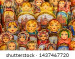 Wooden Nesting Dolls Or Russian ...