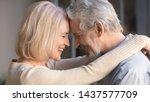 loving old senior family couple ... | Shutterstock . vector #1437577709