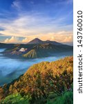 Bromo Volcano At Sunrise...
