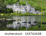 Kylemore Abbey Reflected In...