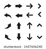 Arow Set Symbol Icon Vector....