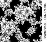 abstract elegance seamless... | Shutterstock . vector #1437676406