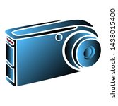 camera tool for photographing... | Shutterstock .eps vector #1438015400