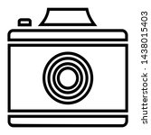 camera tool for photographing... | Shutterstock .eps vector #1438015403