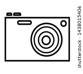 camera tool for photographing... | Shutterstock .eps vector #1438015406