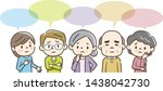 illustration of people who have ... | Shutterstock .eps vector #1438042730