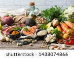Balanced Nutrition Concept For...