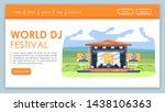 world dj festival landing page...