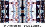 ikat seamless for patchwork.... | Shutterstock . vector #1438128860