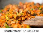 sweet potato hash with fresh...