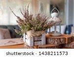 Basket With Heather On The...
