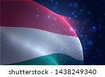 vector bright glowing country... | Shutterstock .eps vector #1438249340