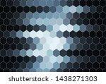 dark blue vector background... | Shutterstock .eps vector #1438271303